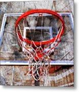 Basketball Art Version 28 Metal Print