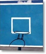 Basketball Backboard Metal Print
