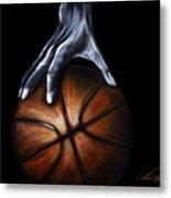 Basketball Legend Metal Print