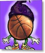 Basketball Wizard Metal Print