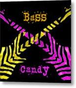 Bass Candy Metal Print