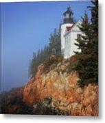 Bass Harbor Lighthouse, Acadia National Park Metal Print