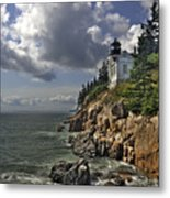 Bass Harbor Lighthouse Metal Print