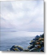 Bass Harbor Maine Metal Print