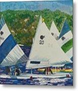 Bass Lake Races  Metal Print