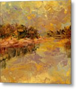 Bass River Metal Print