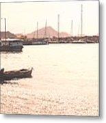 Basseterre Harbour Metal Print