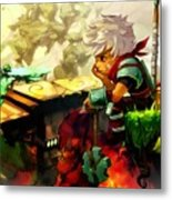 Bastion Metal Print