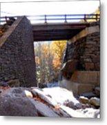Bastion Falls Bridge 2 Metal Print
