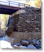 Bastion Falls Bridge 3 Metal Print