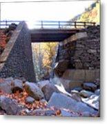 Bastion Falls Bridge 5 Metal Print