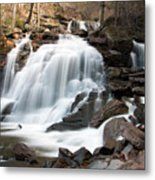 Bastion Falls In April Metal Print