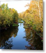 Batavia, Ohio Creek - Other Side Vertical Metal Print