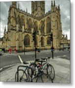 Bath Abbey 2.0 Metal Print