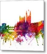 Bath England Cityscape 06 Metal Print