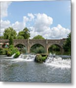 Bathampton Bridge Metal Print