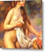 Bather 2 Metal Print