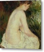 Bather Metal Print