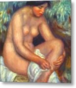 Bather Wiping A Wound 1909 Metal Print