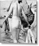 Bathing Nude, 1902 Metal Print