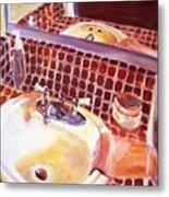 Bathroom Sink Metal Print