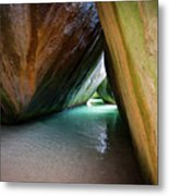 Baths At Virgin Gorda Metal Print