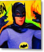 Batman, Adam West Metal Print