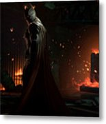 Batman Arkham Origins Metal Print