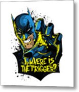 Batman Art Metal Print