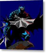 Batman Dark  Metal Print