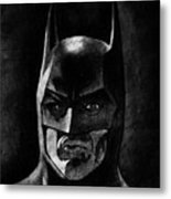 Batman Metal Print by Salman Ravish