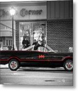 Batmobile Metal Print