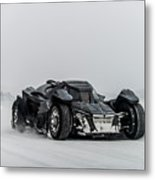 Batmobile Snowtour Metal Print