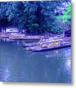 Batteaux At Cartersville Landing 1095t Metal Print
