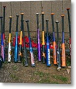 Batter's Choice Metal Print