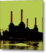 Battersea Power Station London Metal Print by Jasna Buncic