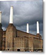 Battersea Power Station, London, Uk Metal Print by Johnny Greig