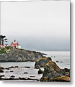 Battery Point Lighthouse California Metal Print