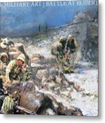 Battle At Roberts Ridge Metal Print