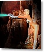 Battle Beyond The Stars Metal Print