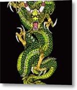 Battle Dragon Metal Print