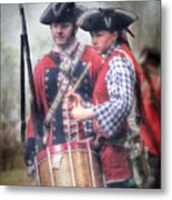 Battle Drums Metal Print