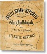 Battle Hymn Of The Republic Metal Print