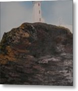 Battle Island Lighthouse Metal Print