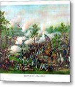 Battle Of Atlanta Metal Print