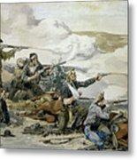 Battle Of Beecher's Island Metal Print