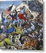 Battle Of Chattanooga 1863 Metal Print by Granger