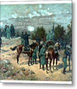 Battle Of Chattanooga Metal Print