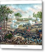 Battle Of Cold Harbor Metal Print