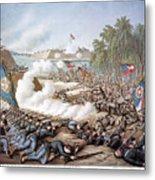 Battle Of Corinth, 1862 Metal Print
